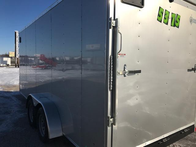 2020 7x18 Darkhorse Enclosed Cargo Trailer