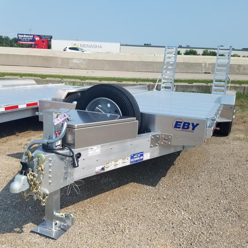 2021 EBY 7x20 Alum Equipment Trailer