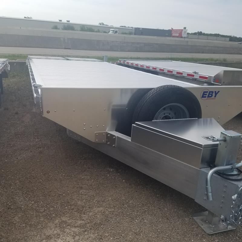 2021 EBY Alum Deck Over 14k Equipment Trailer
