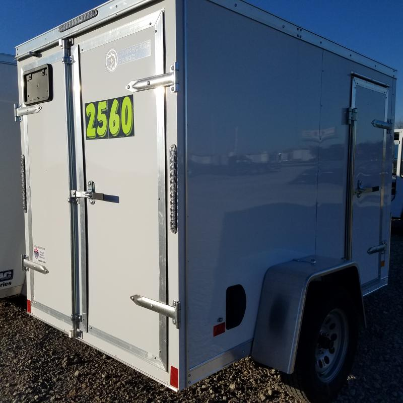 2021 Darkhorse 5x8 Cargo 2500 series Enclosed Cargo Trailer