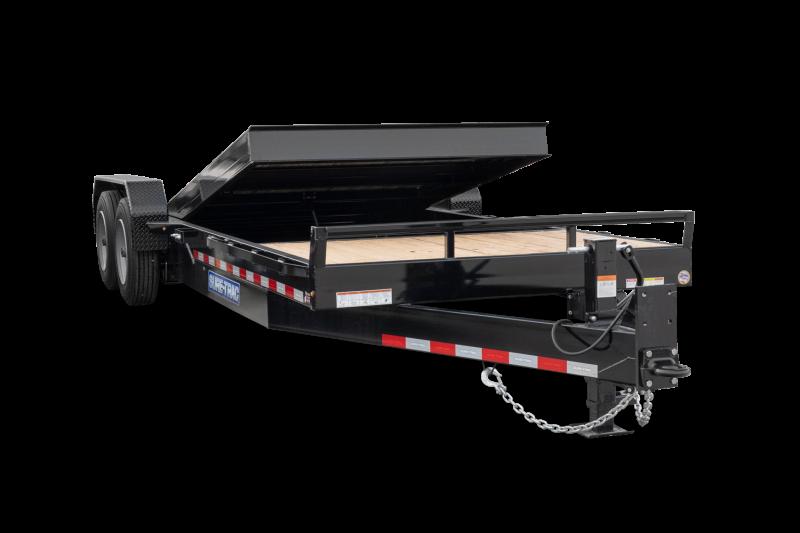 2020 Sure-Trac 78 x 12 + 4 Tilt Bed Equipment  10K