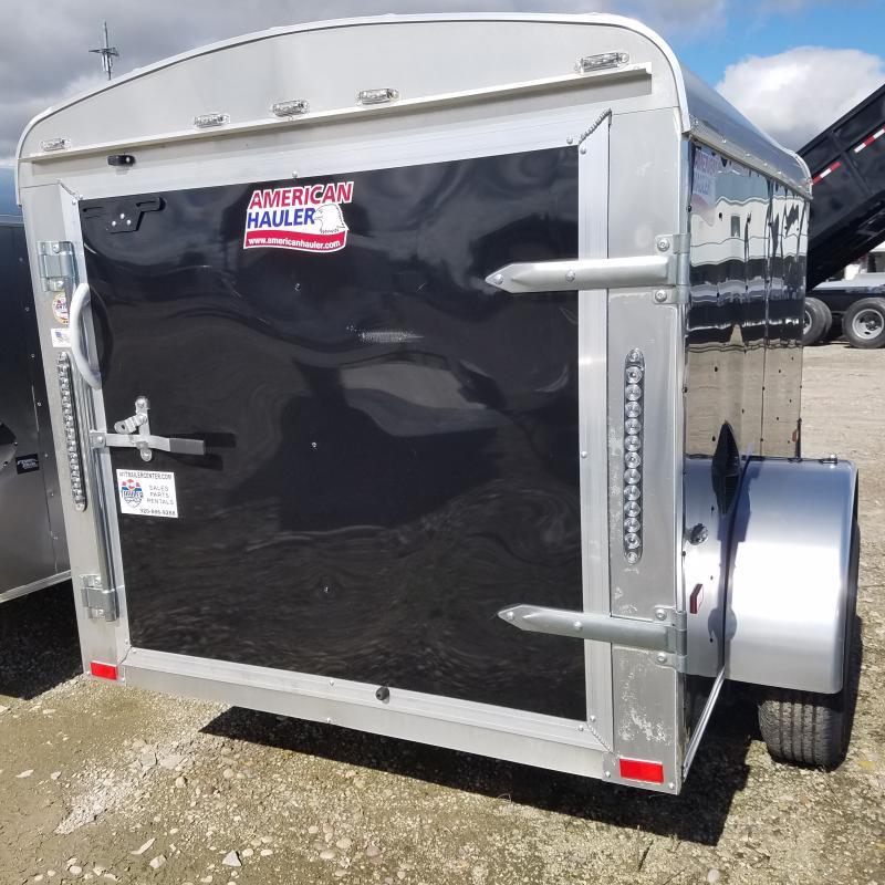 2019 5x8  American Hauler Industries Air'lite Enclosed Cargo Trailer