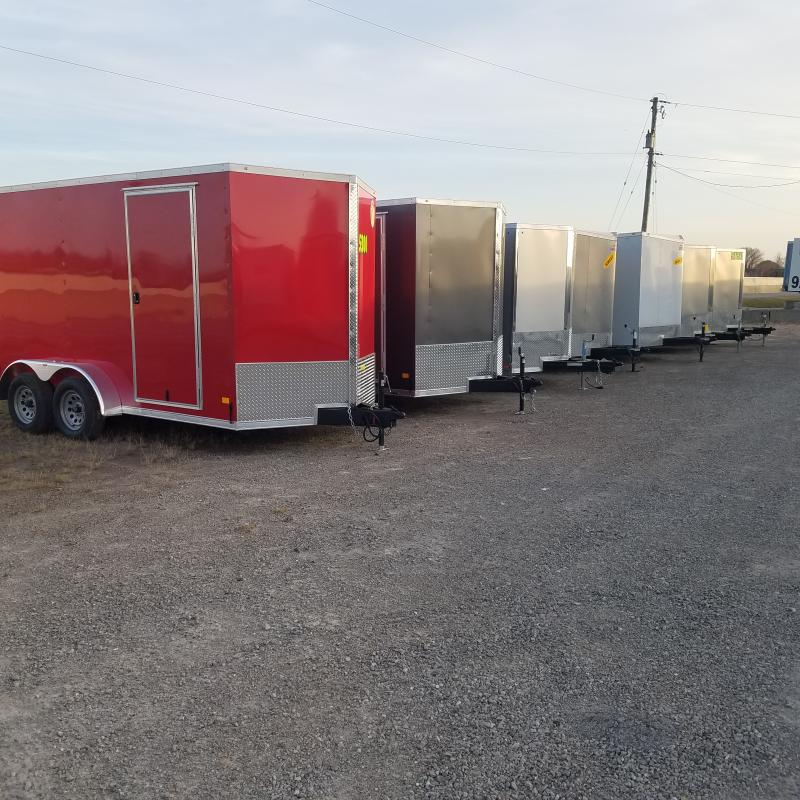 2021 Sure-Trac MANY Cargo / Enclosed Trailer