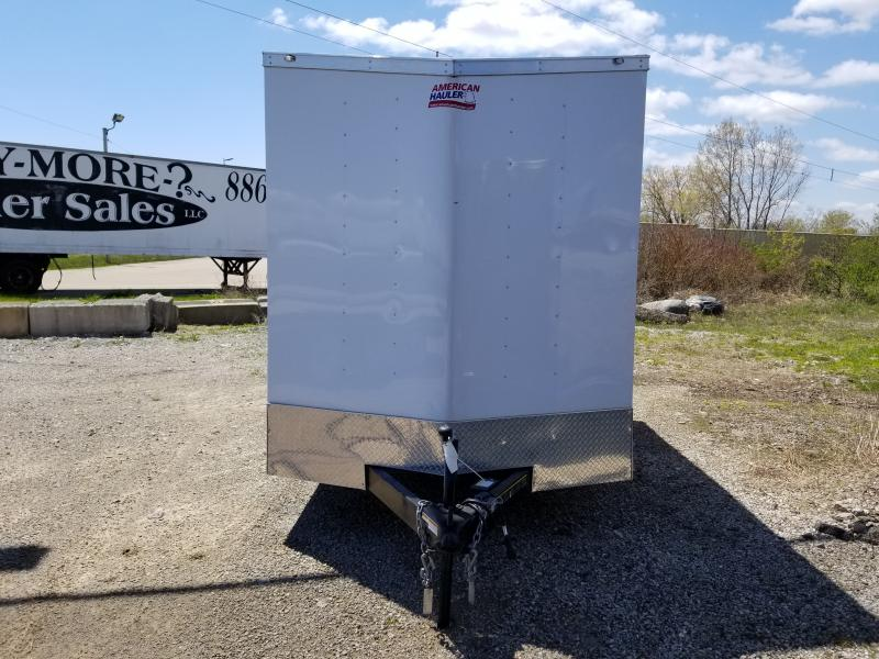 2019 American Hauler 7x12 7'Arrow Enclosed Cargo Trailer