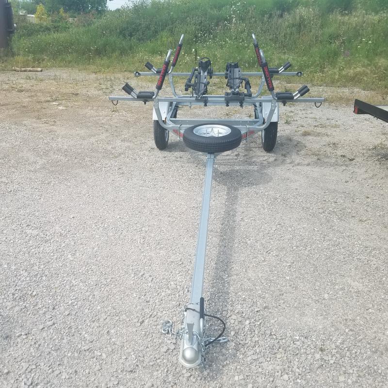 2021 USED 4x6 Bike Kayak Specialty Trailer