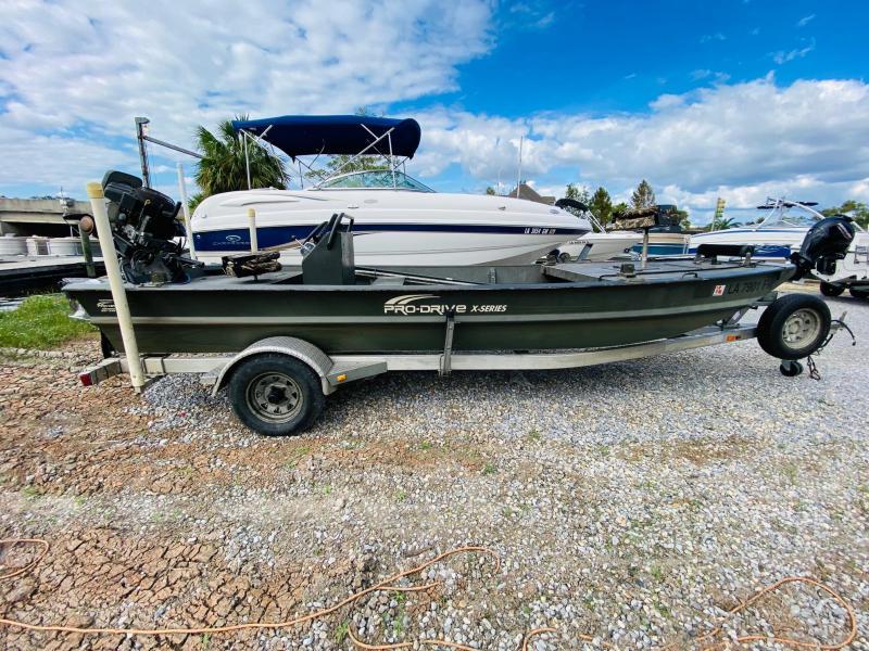 2010 Pro Drive X-Series Jon Boat