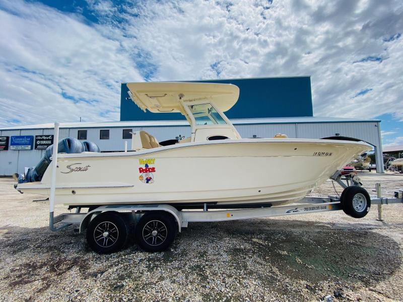 2017 Scout 255 LXF Fishing Boat