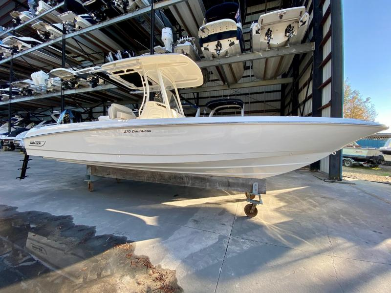 2021 Boston Whaler 270 Dauntless Fishing Boat