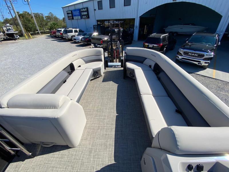 2021 Harris Boats 250 Cruiser Pontoon Boat