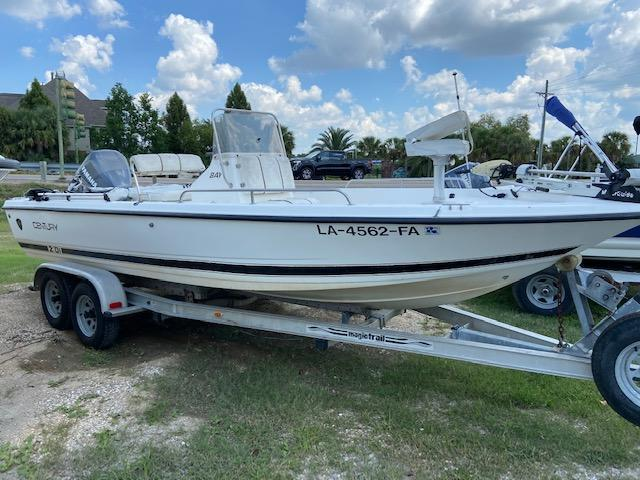 2000 Century 2101 BAY Fishing Boat