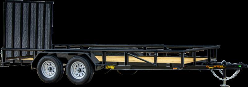 2021 Doolittle Trailer Mfg UT84X187K Utility Trailer