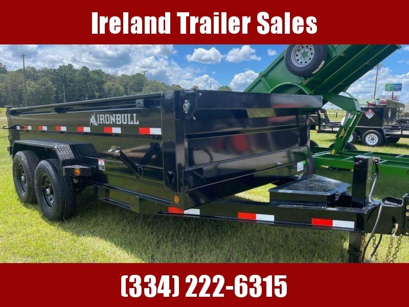 2021 Iron Bull DTB 7x14' Hydraulic Dump Trailer