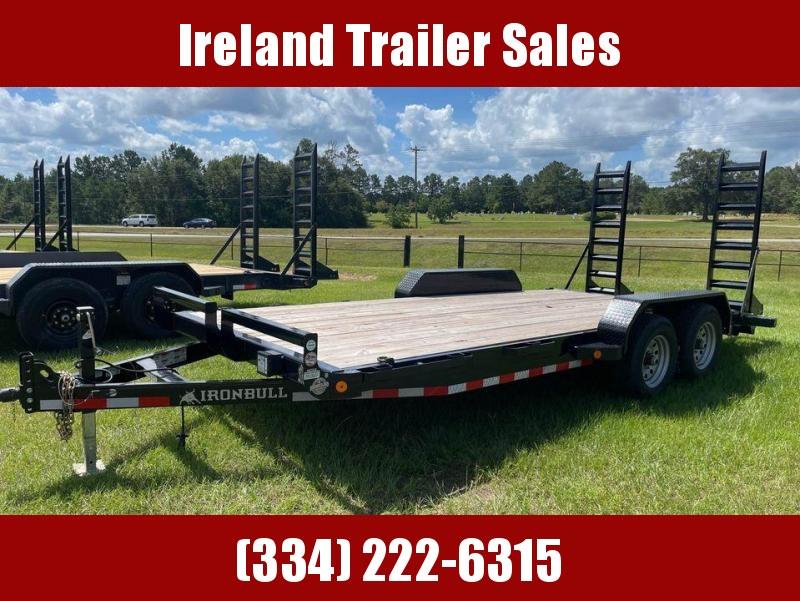 2021 Iron Bull EBT8318 Equipment Trailer
