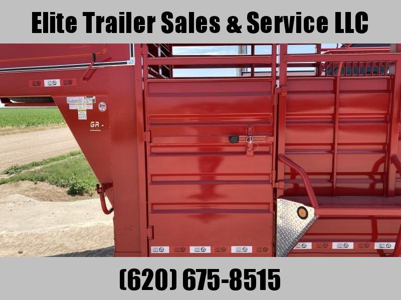 2021 GR Trailers 6' x 14' Gooseneck Single Axle Trailer (STH6014W07LNHR1A) Livestock Trailer