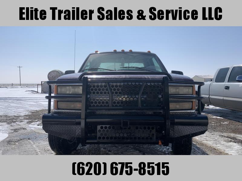 1988 to 1998 Chevy 2500 and 3500 Bumper