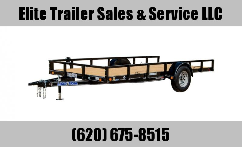 2021 Load Trail SB03 - Single Axle Landscape 83 x 14 Utility Trailer