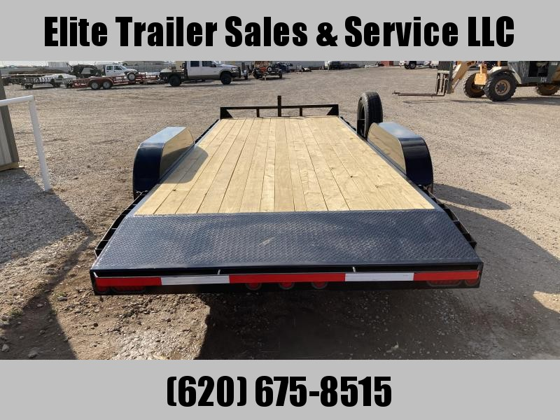 "2021 GR Trailers 82"" x 20' Tandem Axle Car Hauler (CH7020WR10L5) Car / Racing Trailer"