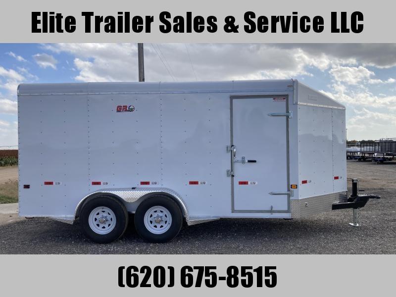 2022 GR Trailers 7' x 16' x 7' Tandem Axle Cargo Trailer (CT7016W10L) Enclosed Cargo Trailer