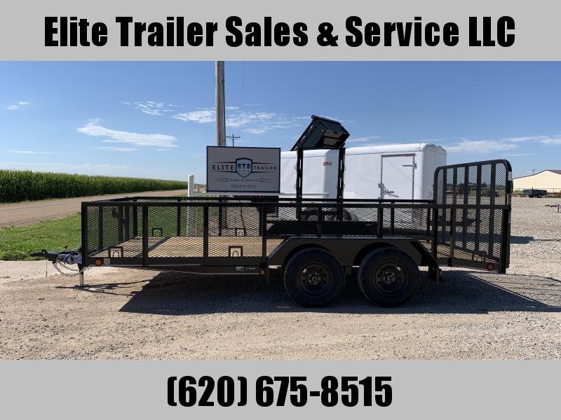 "2021 Load Trail 83""X 16' Tandem Axle Landscape Utility Trailer"
