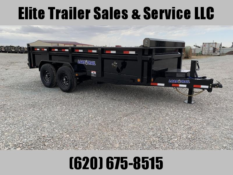 "2020 Load Trail 16'x 83"" Low Pro Dump Trailer"