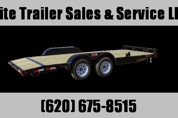 "2021 GR Trailers 82"" x 20' Tandem Axle Car Hauler (CH7020WR07L5) Car / Racing Trailer"