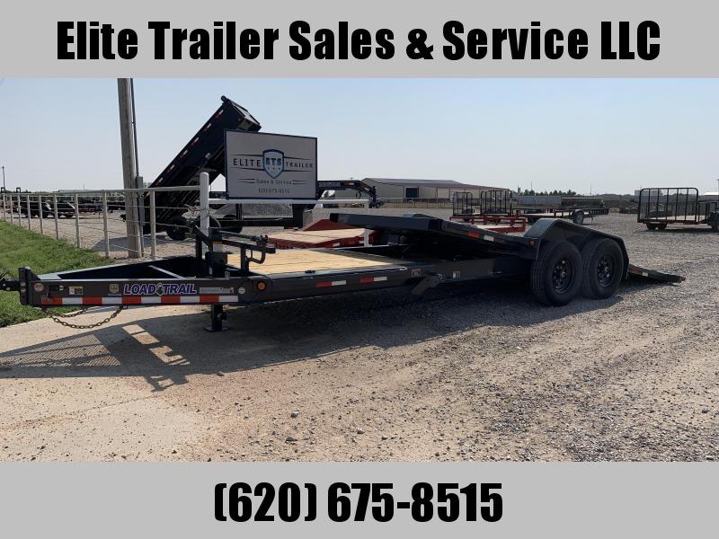 """2021 Load Trail TH14 83"""" X 22'- Tilt-N-Go Tilt Deck 14000 Lb. w/8"""" I-Beam Frame Equipment Trailer"""