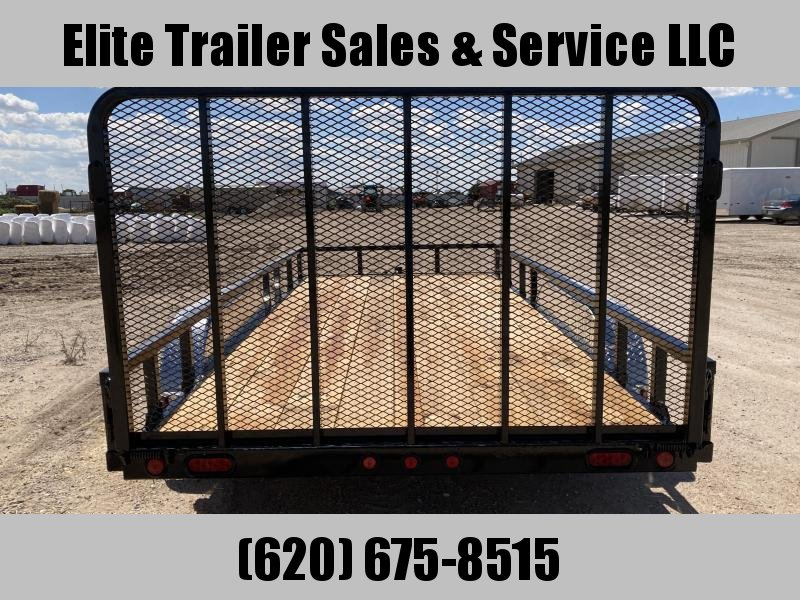 """2021 Load Trail 83"""" X 16' TANDEM AXLE UTILITY (4"""" CHANNEL FRAME)"""