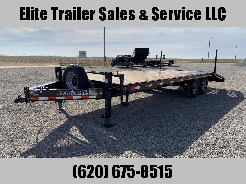 "2020 Load Trail  24' x 102"" 8"" I-Beam Equipment Trailer"