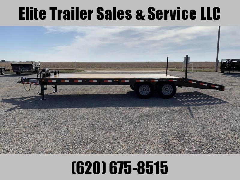 "2020 Load Trail  24' x 102"" 8"" I-Beam Equipment Trailer"