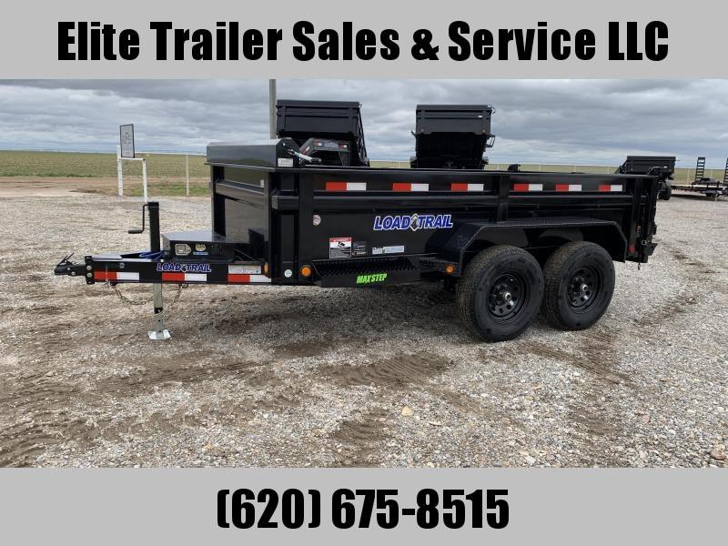 """2020 Load Trail 72"""" x 12' Tandem Axle Dump Trailer"""