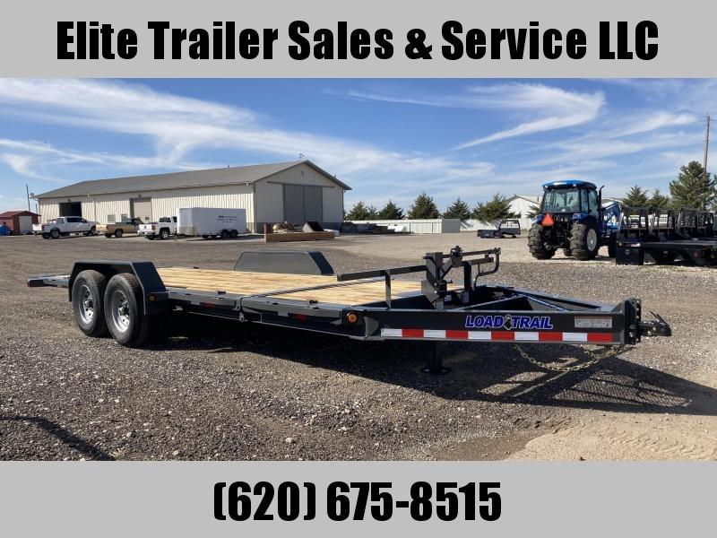 """2022 Load Trail TH14 - Tilt-N-Go Tilt Deck 14000 Lb. w/8"""" I-Beam Frame Equipment Trailer"""