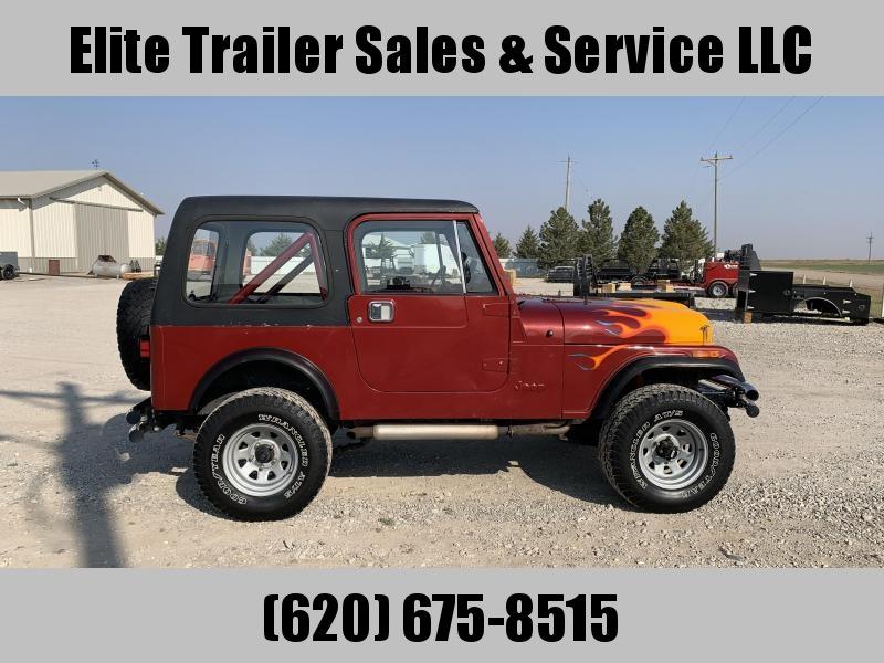 1985 Jeep CJ7 Truck