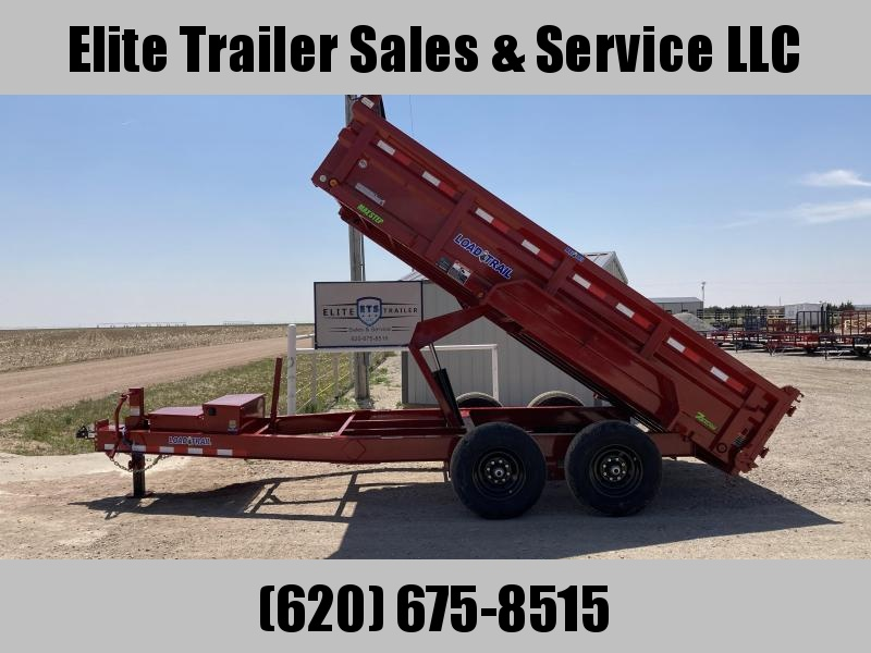 "2021 Load Trail 83"" X 14' HD TANDEM AXLE 8"" I-BEAM HEAVY DUTY DUMP"
