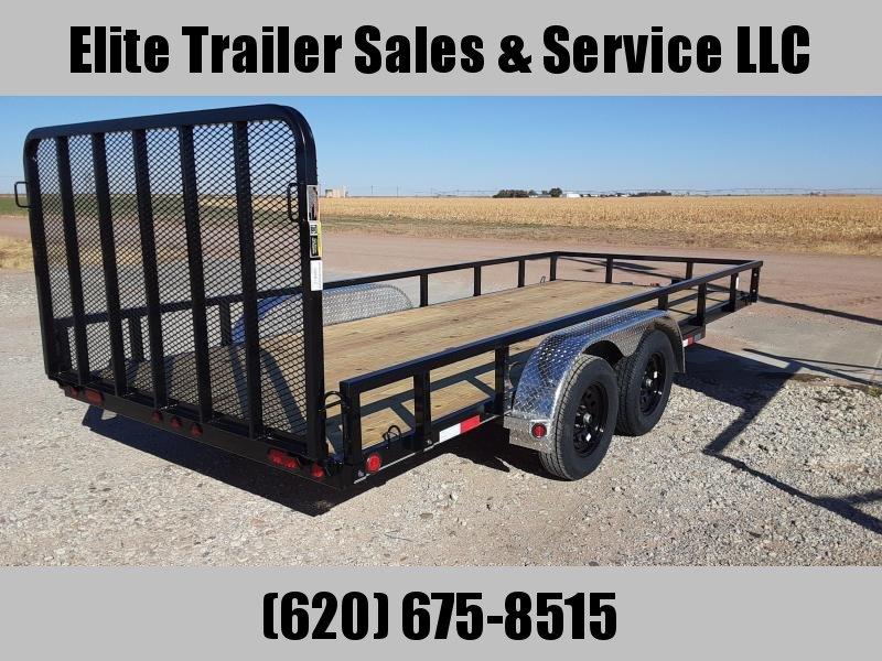 2021 Load Trail UT07 - Tandem Axle Utility 83 x 18 Utility Trailer