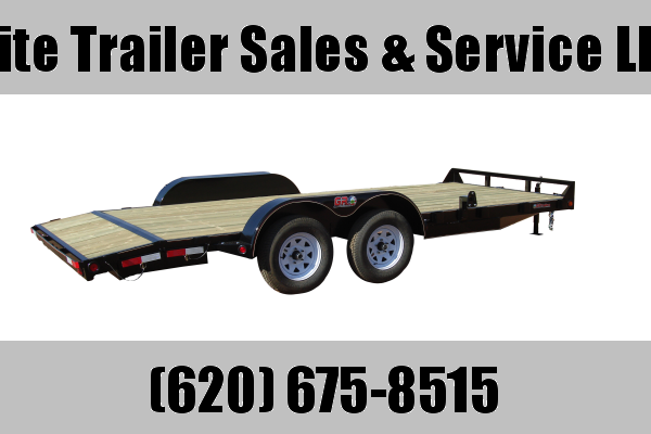 "2021 GR Trailers 82"" x 18' Tandem Axle Car Hauler (CH7018WR07L5) Car / Racing Trailer"