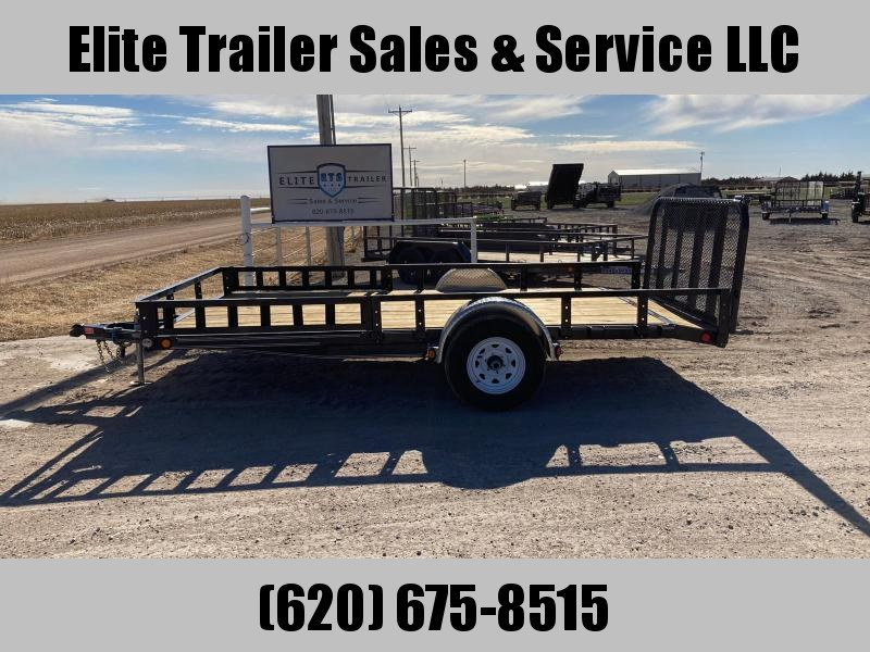 "2020 Used PJ Trailers 83"" X 14' Single Axle Channel Utility (U8) Utility Trailer"