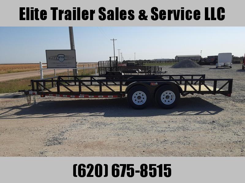2021 GR Trailers 7' x 20' Tandem Axle Utility Trailer (UT7020WR10L) Utility Trailer