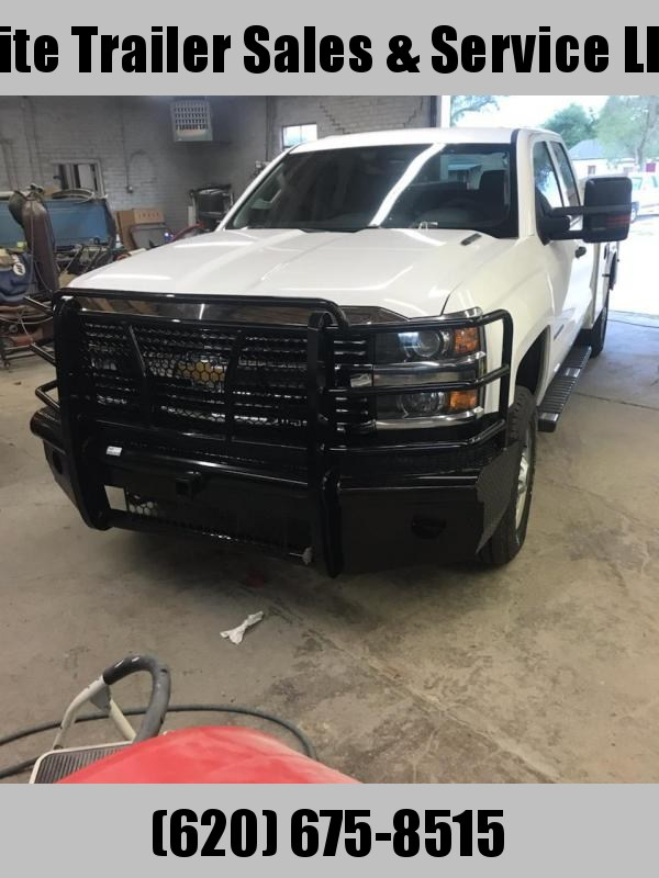 2015 to 2019 Chevy 2500 and 3500 Bumper