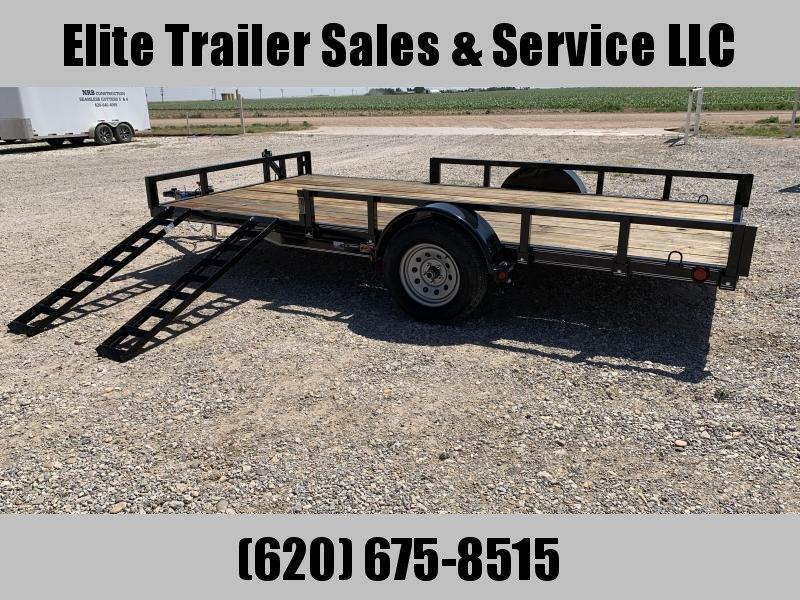 """2020 Load Trail SB03 - 83"""" x 14'  Utility Trailer"""