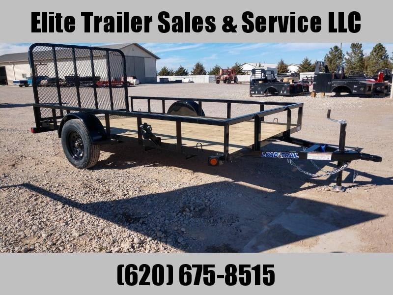 "LOAD TRAIL 77"" X 12' SINGLE AXLE (2"" X 3"" ANGLE FRAME)"