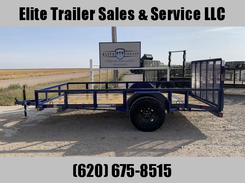 "Load Trail 72"" X 12' SINGLE AXLE (2"" X 3"" ANGLE FRAME)"