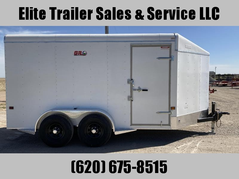 2021 GR Trailers 7' x 14' x 7' Tandem Axle Cargo Trailer (CT7014W10L) Enclosed Cargo Trailer