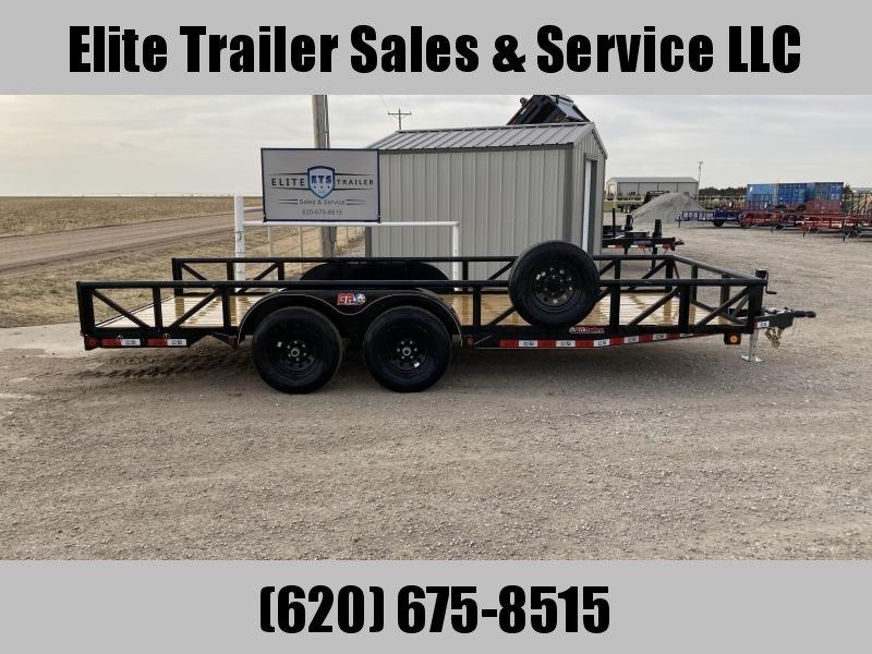 2021 GR Trailers 7' x 18' Tandem Axle Utility Trailer (UT7018WR10L) Utility Trailer