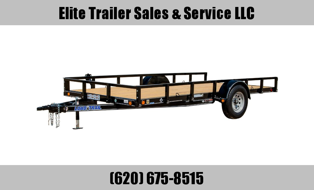 "72"" X 12' SINGLE AXLE (4"" CHANNEL FRAME)"