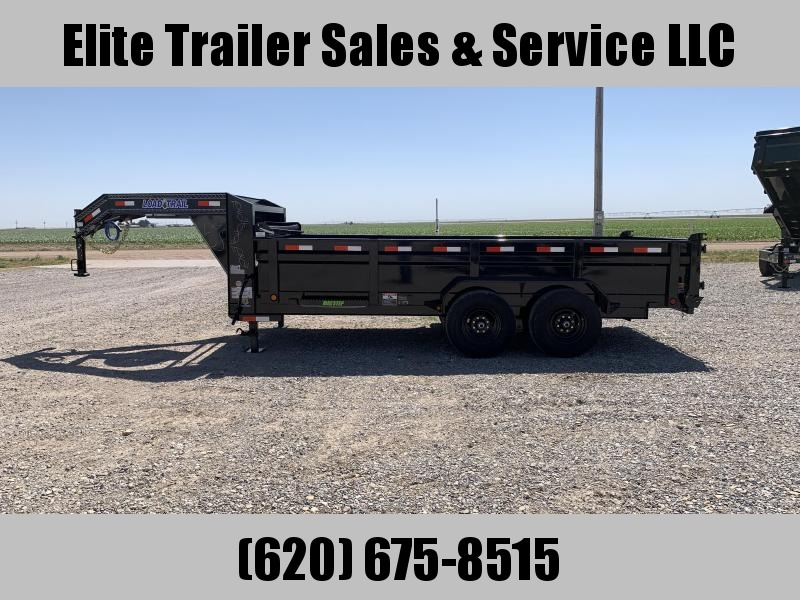 2020 Load Trail GD14 83 x 16 Low Pro Dump Trailer