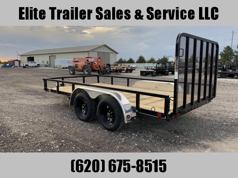 2022 Load Trail UT07 - Tandem Axle Utility 83 x 14 Utility Trailer