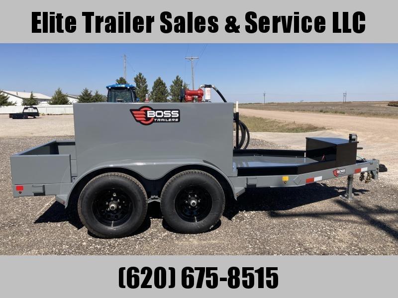 2021 Boss 590 Gallon Fuel Trailer