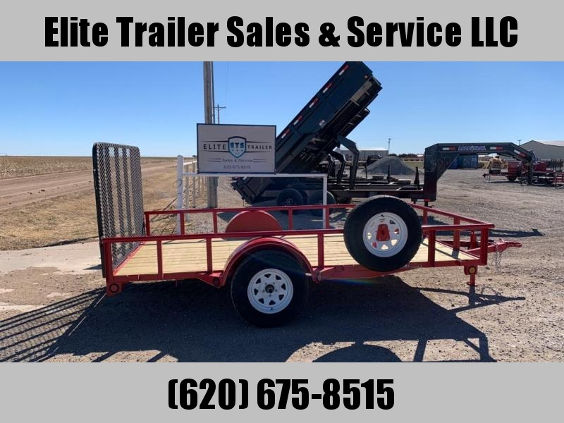 "2021 GR Trailers 77"" x 12' Single Axle Utility Trailer (UT6512W03L) Utility Trailer"
