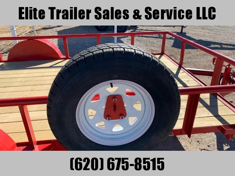 "2021 GR Trailers 77"" x 12' Single Axle Utility Trailer (UT6512W03L) Utility Trailer"