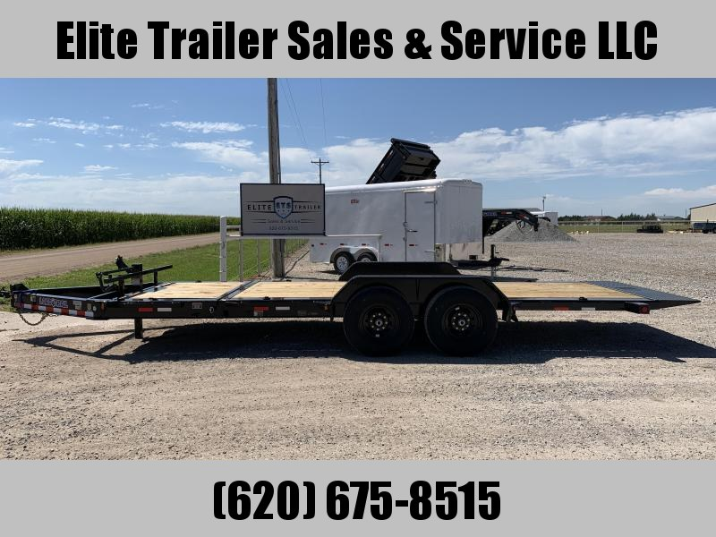 """2021 Load Trail 83"""" X20' - Tilt-N-Go Tilt Deck 14000 Lb. w/8"""" I-Beam Frame Equipment Trailer"""